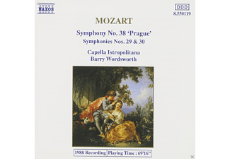 Capella Istropolitana - Mozart: Symphonies Nos. 29, 30 And 38 - (CD)