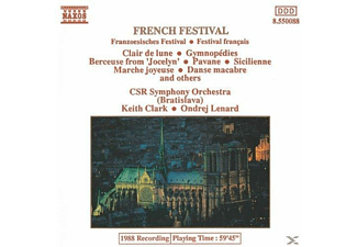 Keith Clark, CSR Symphony Orchestra - French Festival - (CD)