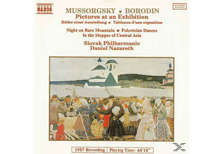 Slovak Philharmonic - Pictures At An Exhibition/Night On Bare Mountain/Polovtsian Dances/In The Steppes Of Central Asia - (CD)