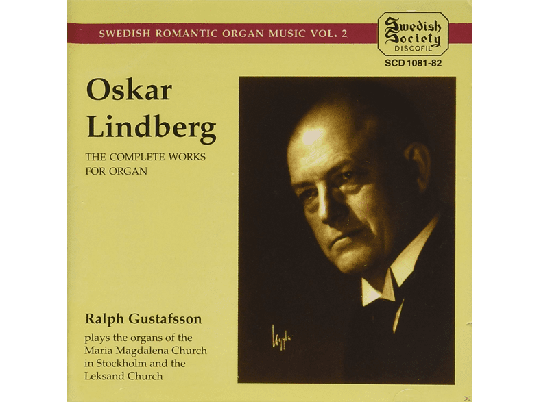 Ralph Gustafsson - The Complete Works For Organ [CD]