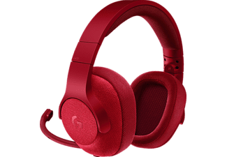 LOGITECH G433 Surround Gaming Headset Fire Red