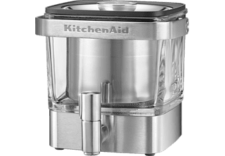KITCHENAID 5KCM4212SX, Kaffeebereiter, Silber/Transparent