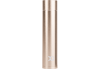 XQISIT 19340, Powerbank, 2600 mAh, Gold