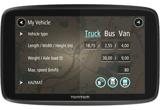 "TOMTOM GPS camion Go Professional 6200 Europe 6"" (1PL6.002.09)"