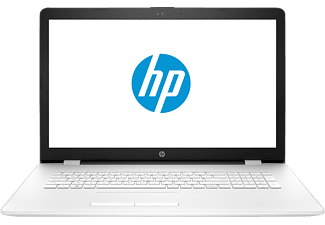 HP 17-bs033ng, Notebook mit 17.3 Zoll Display, Intel® Core™ i3 der sechsten Generation Prozessor, 8 GB RAM, 256 GB SSD, Intel HD Graphics 520, Weiß