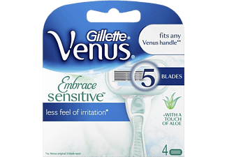 GILLETTE 352883 VENUS EMBRACE SENSITIVE REFILL 4-PACK