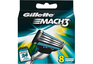 GILLETTE MACH3 Turbo Men's rakblad, 8-pack