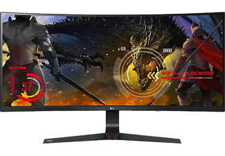 LG Computerscherm 34UC89G-B UltraWide Full-HD IPS LED Curved