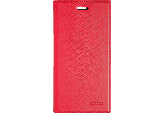 SPADA Booklet Case Style Handyhülle, Rot, passend für Apple iPhone 7, iPhone 8