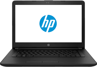 HP 14-bs034ng, Notebook mit 14 Zoll Display, Intel® Core™ i3 der sechsten Generation Prozessor, 8 GB RAM, 1000 GB, Intel HD Graphics 520, Schwarz