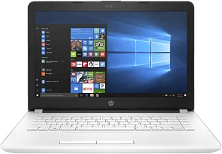 HP 14-bs032ng, Notebook mit 14 Zoll Display, Intel® Celeron® Prozessor, 4 GB RAM, 500 GB HDD, Intel® HD Graphics 400, Weiß