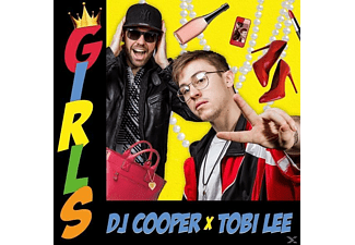 Dj Cooper X Tobi Lee - Girls - (Maxi Single CD)