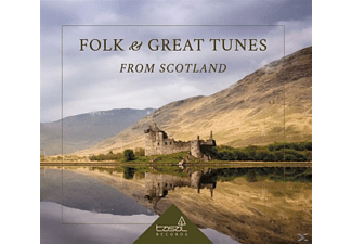 VARIOUS - Folk and Great Tunes from Scotland - (CD)