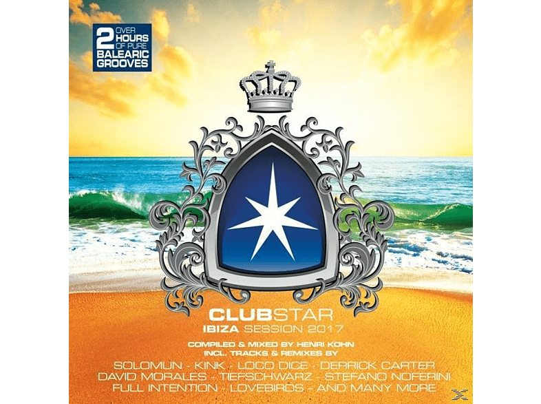 VARIOUS - Clubstar Ibiza Session 2017 [CD]