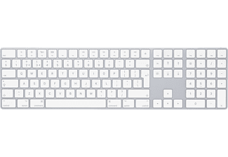 APPLE Magic Keyboard med numerisk del (svenskt) - Silver