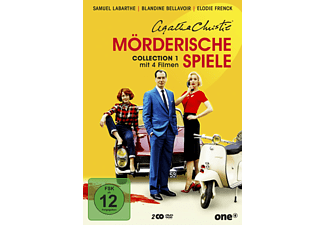 Agatha Christie - Mörderische Spiele Collection 1 - (DVD)