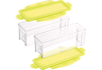 GENIUS 33839 Nicer Dicer Magic Cube Gourmet 4-tlg., Behälter