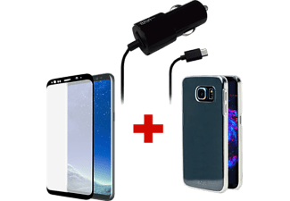 AZURI Pack d'accessoires Galaxy S8 (PACK-S8)