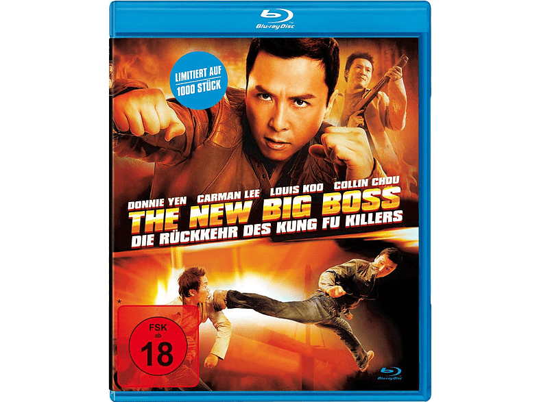 THE NEW BIG BOSS - Die Rückkehr des Kung Fu Killers [Blu-ray]