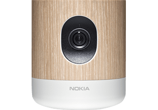 NOKIA Home, Video-Monitoring System, Silber/Holz