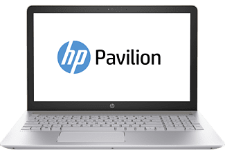 HP Pavilion - 15-cc030ng, Notebook mit 15.6 Zoll Display, Intel® Core™ i5 der siebte Generation Prozessor, 8 GB RAM, 1000 GB HDD, Intel HD Graphics 620, Gold, Silber