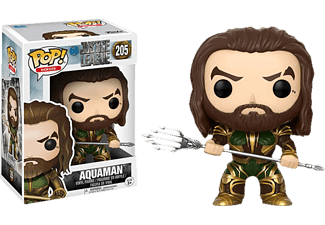 FUNKO UK POP! Heroes: Justice League Movie - Aquaman Vinylfigur, Mehrfarbig