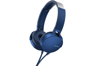 SONY Casque audio On-ear EXTRA BASS Blauw (MDRXB550APL.CE7)