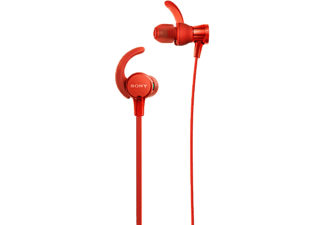 SONY Sport oortjes EXTRA BASS Rood (MDRXB510ASR.CE7)