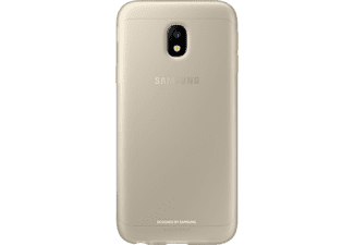 SAMSUNG Jelly Cover EF-AJ330 Galaxy J3 (2017) Handyhülle, Gold