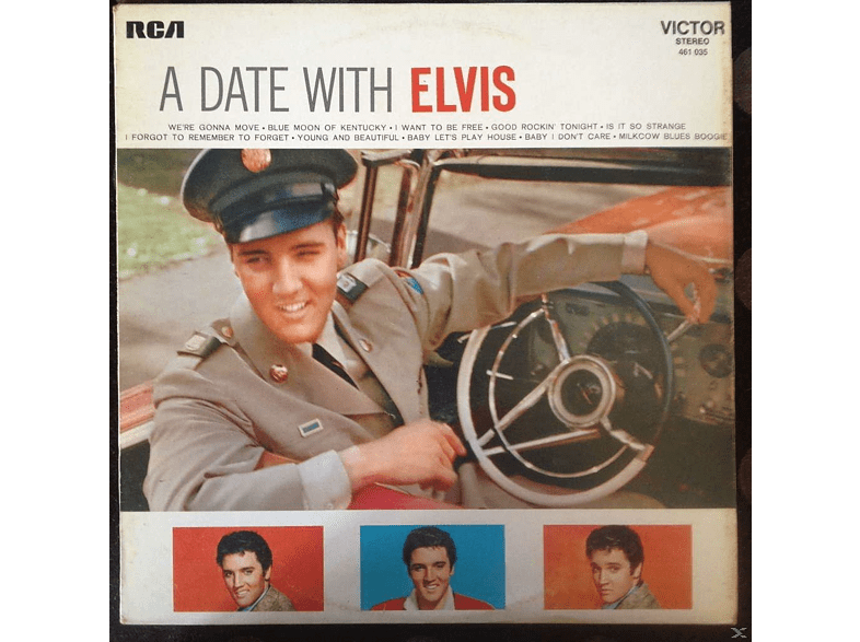Elvis Presley - A Date With Elvis / Elvis Is Back [CD]