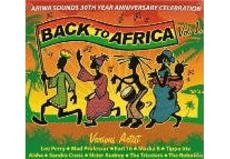 VARIOUS - Back To Africa - (CD)