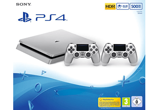 SONY PlayStation 4 500GB Slim Silber