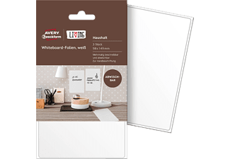 AVERY ZWECKFORM LIVING, Whiteboard-Folien