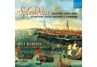 Kei Koito, Dietrich Buxtehude - Splendour-Organ Music & Vocal Works - (CD)