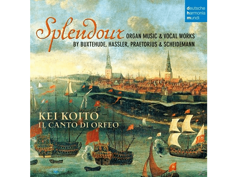 Kei Koito, Dietrich Buxtehude - Splendour-Organ Music & Vocal Works [CD]