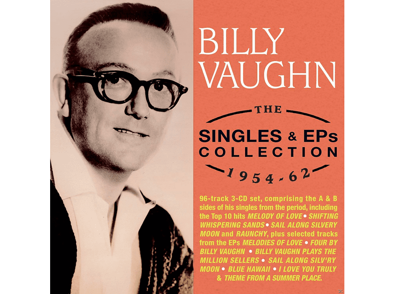Billy Vaughn - The Singles & EPs Collection 1954-62 [CD]