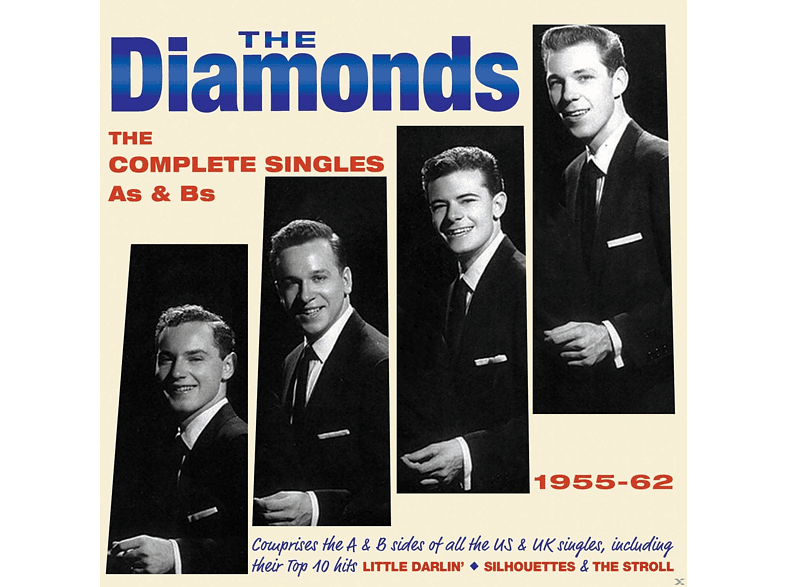 The Diamonds - The Complete Singles As & Bs 1955-62 [CD]