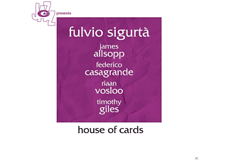James Allsopp, Federico Casagrande, Riaan Vosloo, Timothy Giles, Fulvio Sigurta' - House Of Cards - (CD)