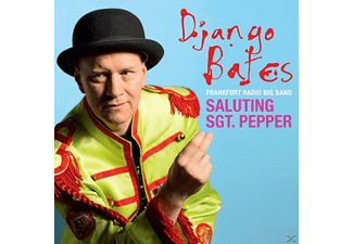 Django Bates, Frankfurt Radio Big Band - Saluting Sgt.Pepper - (CD)