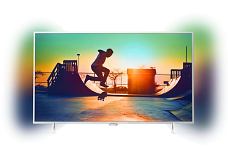 "PHILIPS 55PUS6432/12 55"" Slimmad LED-TV med 4K Ultra och Android TV - Silver"