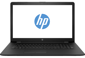 HP Notebook - 17-bs032ng, Notebook mit 17.3 Zoll Display, Core™ i3 Prozessor, 8 GB RAM, 1000 GB HDD, 128 GB SSD, Intel HD Graphics 520, Schwarz