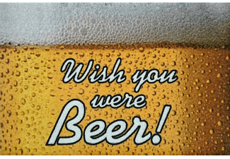 Wish you were Beer! Fussmatte
