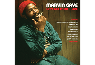Marvin Gaye - Let's Get It On Live - (Vinyl)