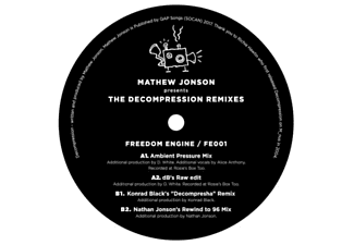 Mathew Jonson - Decompression-Remixes #1 - (Vinyl)