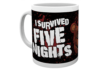Five Nights at Freedy´s Tasse I survived five Nights