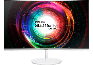 "SAMSUNG Computerscherm LC32H711 32"" WQHD QLED Curved"