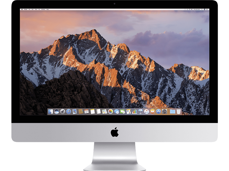 APPLE MNED2D/A iMac, All-In-One-PC, Core™ i5 Prozessor, 8 GB RAM, 2 TB Fusion Drive, Radeon™ Pro 580, Silber