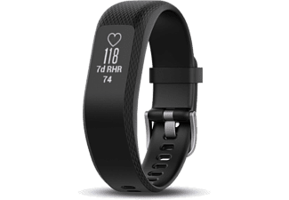 GARMIN VIVOSMART 3 HR/V REP (L) - BLACK