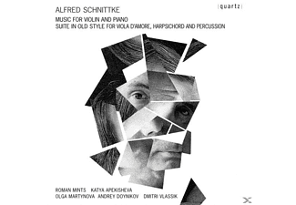 Roman Mints - Schnittke Works For Violin And Piano - (CD)