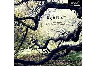 Ssens Trio - String Trio op.3 & Serenade op.8 - (CD)